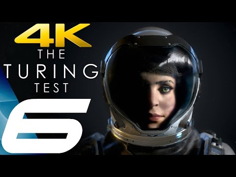 The Turing Test - Gameplay Walkthrough Part 6 - Chapter 6 [4K 60FPS ULTRA]