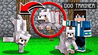 How to TRAIN WOLVES to do TRICKS in Minecraft Tutorial!