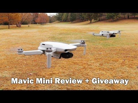 DJI Mavic Mini Review - 30 minute flight time at 249 grams