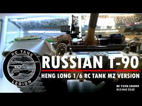 HENG LONG 1:16 RC TANK RUSSIAN T90 MZ VERSION BY RC TANK