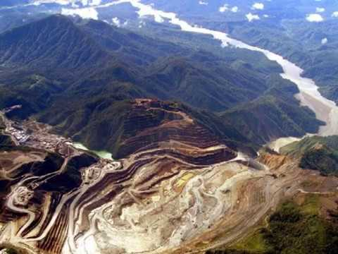 Tabubil and Ok Tedi copper and gold mine, Star Mountains, travel in Papua New Guinea