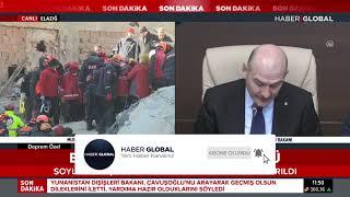 Süleyman Soylu, Fahrettin Koca Ve Murat Kurum'dan Deprem Açıklaması