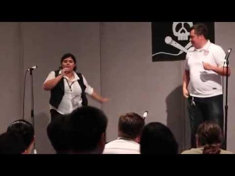 [AX 2014] Ultimate Karaoke Fighting Championships - Kazoo Round