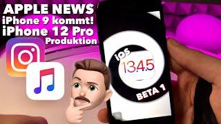 iOS 13.4.5 BETA 1 ist da & iPhone 9 kommt jetzt wirklich bald, iPhone 12 Pro im Plan ?!   APPLE NEWS