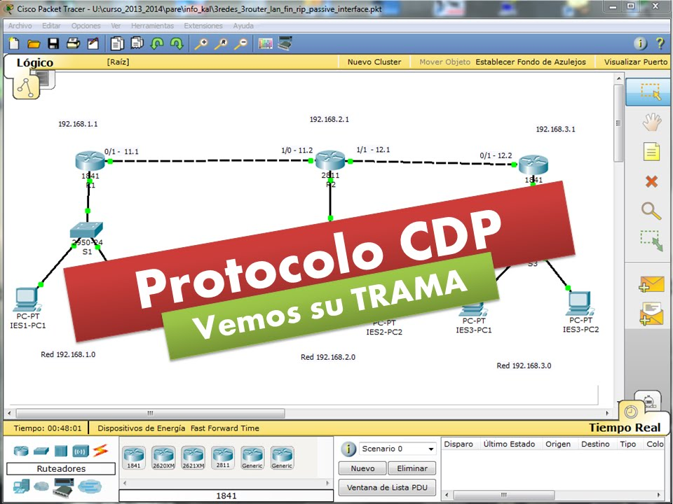 CDP03: Protocolo CDP - Cisco Systems - Veamos su TRAMA - YouTube