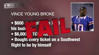 Vince Young = BROKE