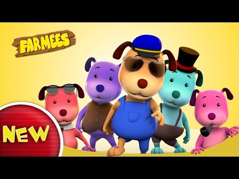 This Little Puppy Went To Market | Nursery Rhymes | Kids Songs | Baby Rhyme by Farmees