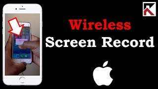 How To Record Your iPhone Screen Wireless!!