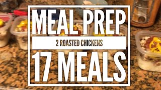 Food Friday - Meal Prep -  Whole Roasted Chicken Recipes
