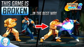 THIS GAME IS BROKEN (...but it's SO MUCH FUN!) Capcom vs. SNK 2