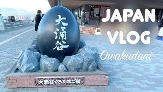 일본 브이로그 | 대지옥이라 불렸던 오와쿠다니 여행 |…
