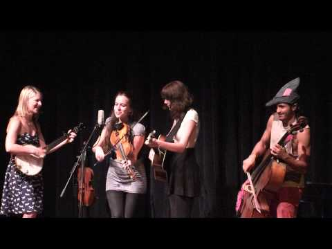 Lauren Rioux, Brittany Haas, Molly Tuttle, and Rushad Eggleston make remarkable music together