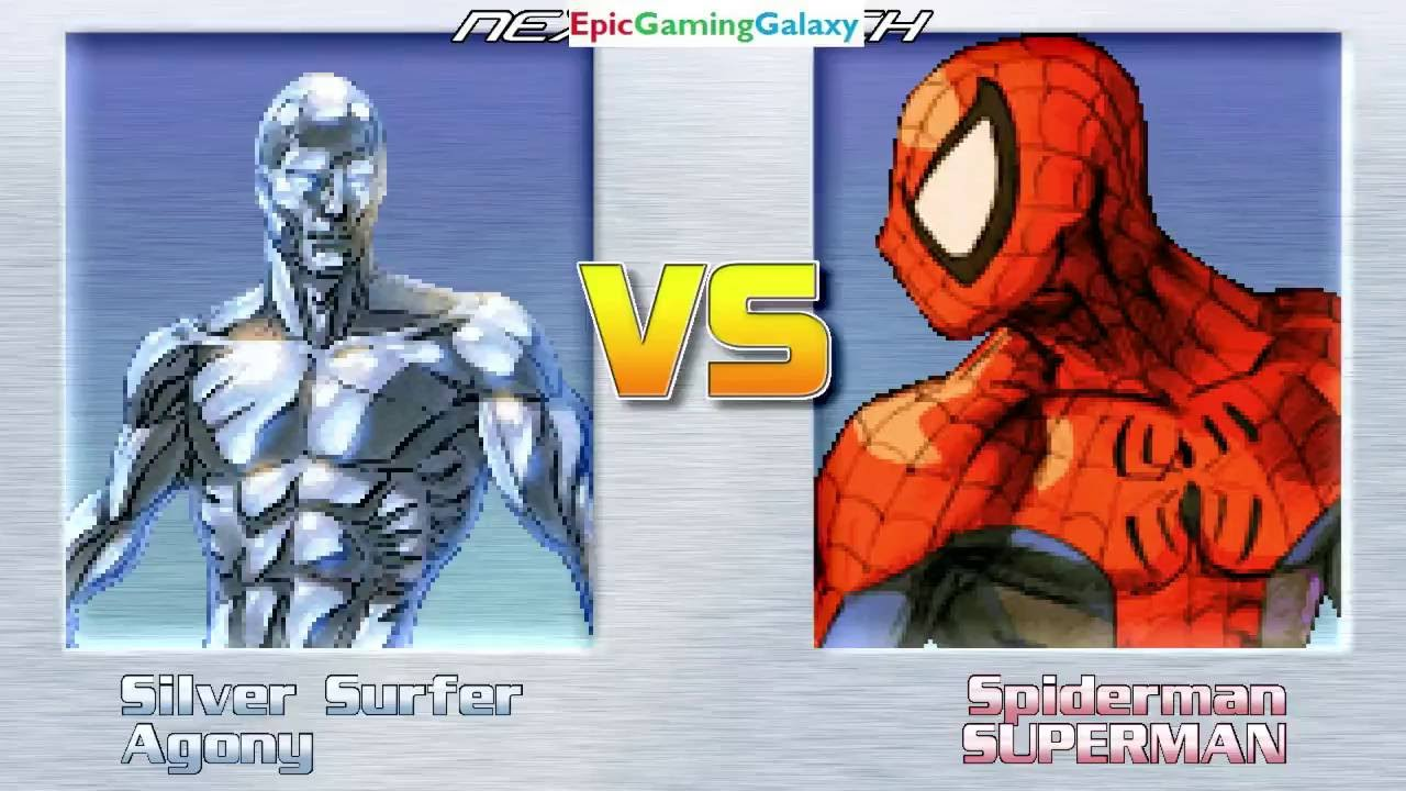 Superman And Spider-Man VS Silver Surfer And Agony The ...