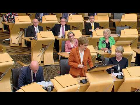 First Minister's Questions - 7 June 2018