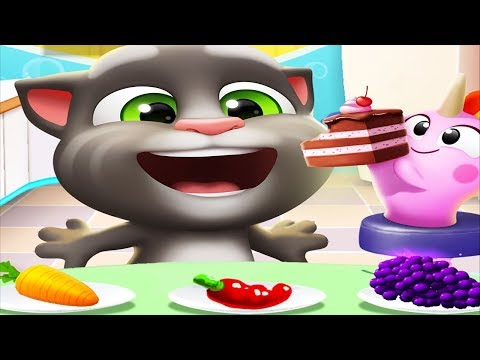 Talking tom 2 - Little Tom Cat Babysitter - Play Dress Up Pet Care Kids Games