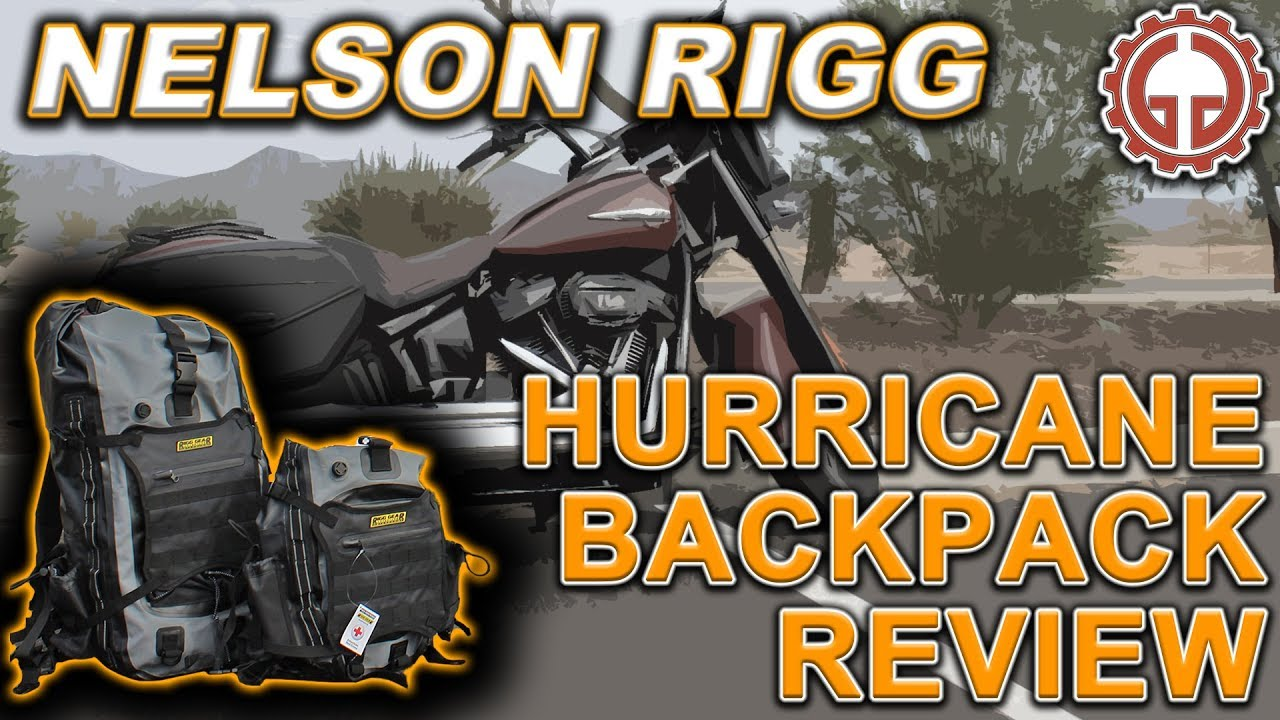 f8d07ec38df Nelson Rigg Hurricane Backpack Review - YouTube