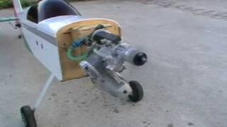 O.S 46 AX 7.5cc nitro engine
