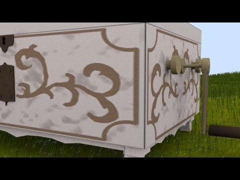 Tapion's Music Box recreated in Blender 3D