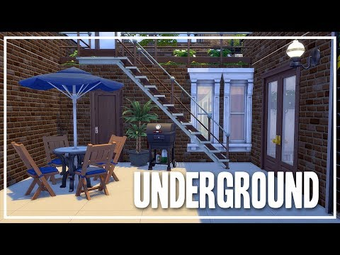 The Sims 4 Speed Build - Underground [Limited Packs!]