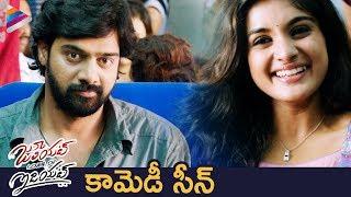Nivetha Thomas Laughs at Naveen Chandra | Juliet Lover of Idiot 2018 Telugu Movie | Telugu FilmNagar