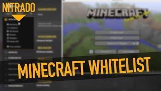 Minecraft Server mit Whitelist sichern! - Nitrado Tutorial