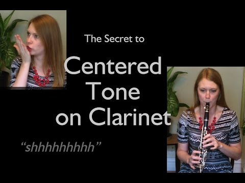 The Secret to Dark, Centered Tone on Clarinet