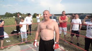GERMANY TRUCK driver  vs MMA fighter !!