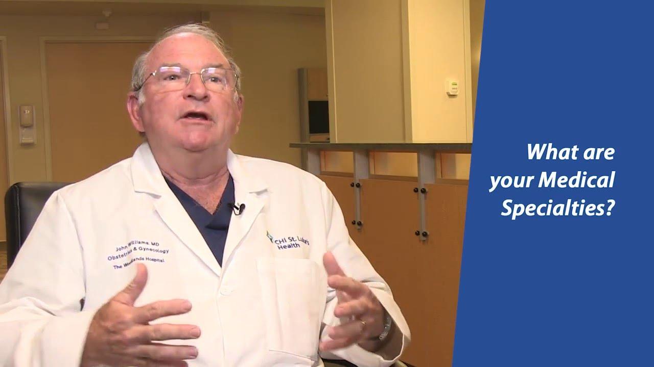 Dr  John Williams | Gynecology (OB/GYN) | CHI St  Luke's Health