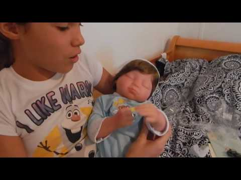 New Paradise Galleries Man in the Moon Reborn Baby Box Opening