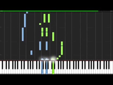Song of Storms - The Legend of Zelda: Ocarina of Time [Piano Tutorial] (Synthesia)