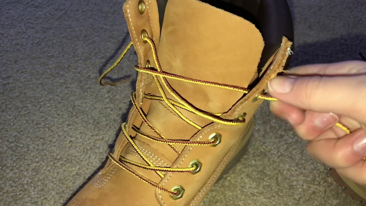 69410a1a1d0 Timberland Boots With Logo On Tongue