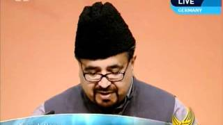Fruits of Martyrdoms, Islam Ahmadiyya, Urdu speech at Jalsa Salana Germany 2011