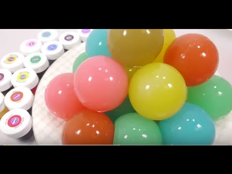 ОРБИЗ цветной DIY How to Make 'Colors Soft Stick Jelly Gummy Pudding' Learn Colors Big Orbeez