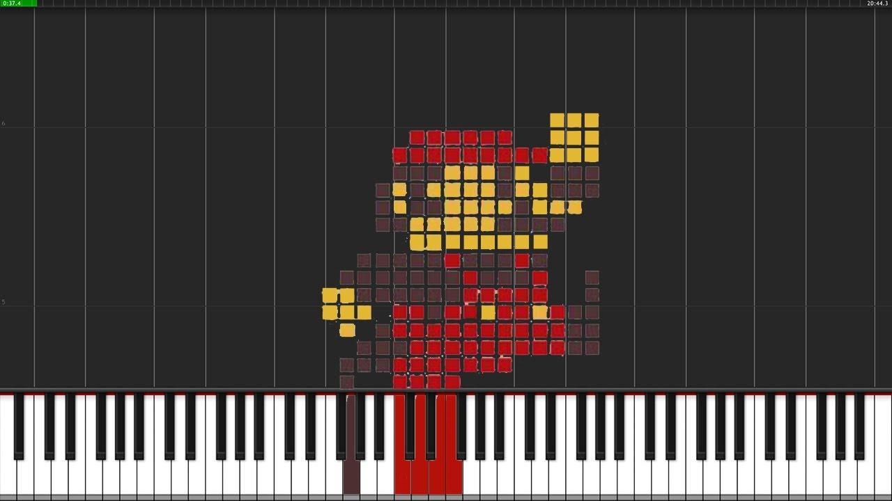 Super Mario Bros. Theme (Original Version) [Piano Tutorial