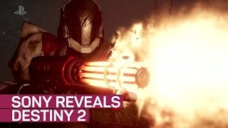 Sony reveals Destiny 2 and console-exclusive content