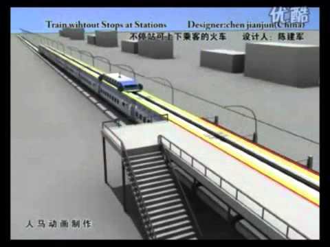 Invento tren alta velocidad sin paradas