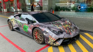Crazy Art Style Wrapped Performante