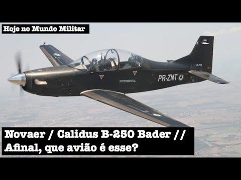 Novaer/Calidus B-250 Bader, afinal, que avião é esse?