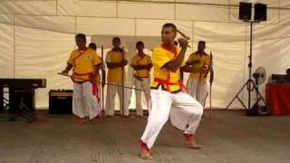 Silambam Nilaikalakki demonstration Little Penang