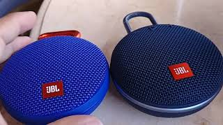 JBL Clip 2 versus JBL Clip 3 - Physical features and soundtest