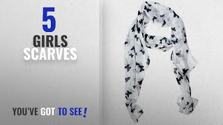 10 Best Girls Scarves 2018 Best Sellers ICW Girls 39 Scarf Small Black and White 22W x 72L inch