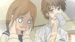 аниме клип  её зовут маша она любит сашу ,а он любит дашу и только её
