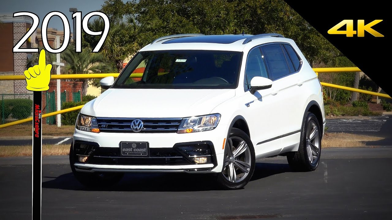 2019 Volkswagen Tiguan R Line Vw Detailed Look Youtube