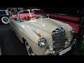 1959 Mercedes-Benz 220 SE Cabriolet - Exterior and Interior - Classic Expo Salzburg 2017