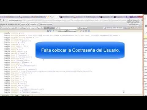 Migrar joomla de Local A un Servidor Web (Desde CPANEL)