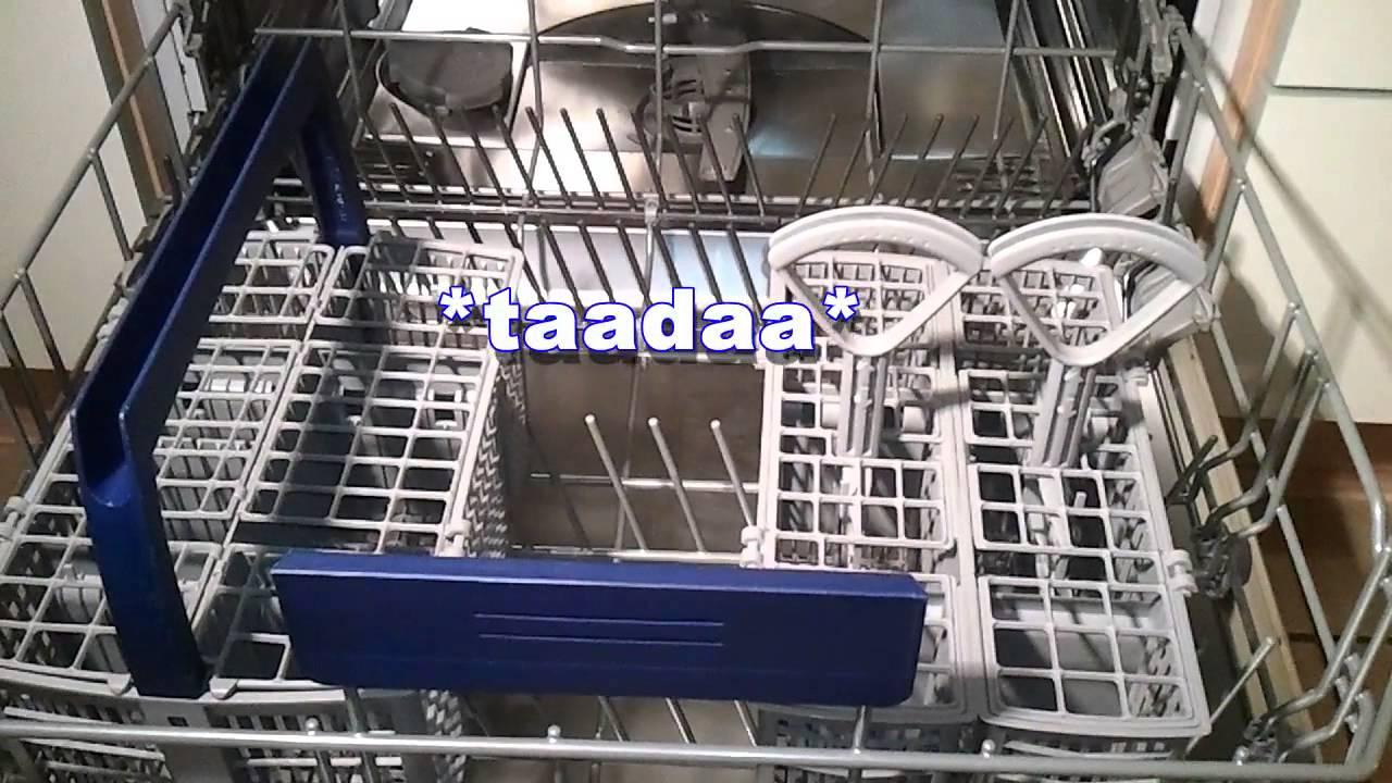Bosch/Siemens Geschirrspüler   Dishwasher: Cutlery Basket / Besteckkorb    YouTube