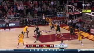 Men's Basketball: USC 72, Stanford 56 - 1/5/17