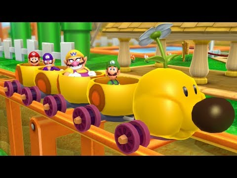 Mario Party 10 - Mario Party Mode - Mushroom Park (Master Difficulty)