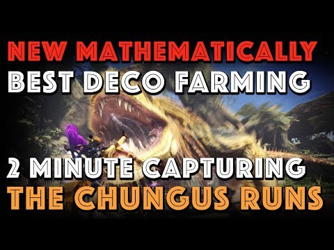 NEW MATHEMATICALLY BEST DECO FARMING: The Greatest Jagras [MHW] thumbnail