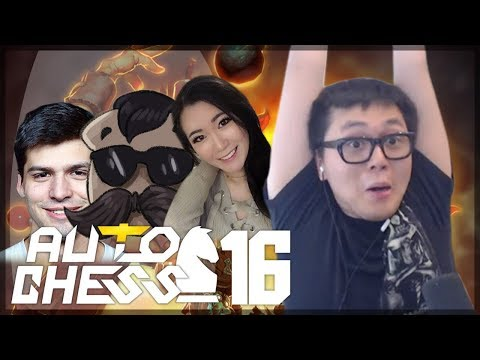 Amaz Going for Twitch Rivals WIN!! | Amaz Auto Chess 16 ft. Toast, Dyrus, Hafu, Dog, Choco